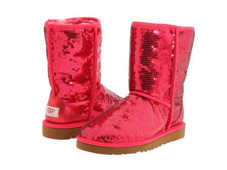 Sequined Ugg boots combine both style and comfort - with a pair of these I will be able to rule the (fashion) world.