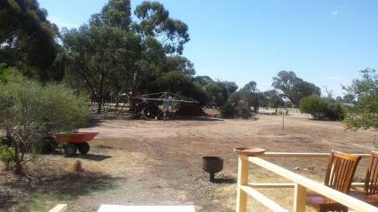 Mum and Dad's yard - there is still work to be done but I have no doubt it will be amazing before we know it!