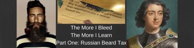 Russian Beard Tax Cver